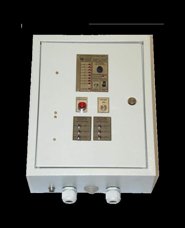 Шкаф управления нагревом типа ШУН-203/3СГ-ТРМ-220 в комплекте с датчиком температуры